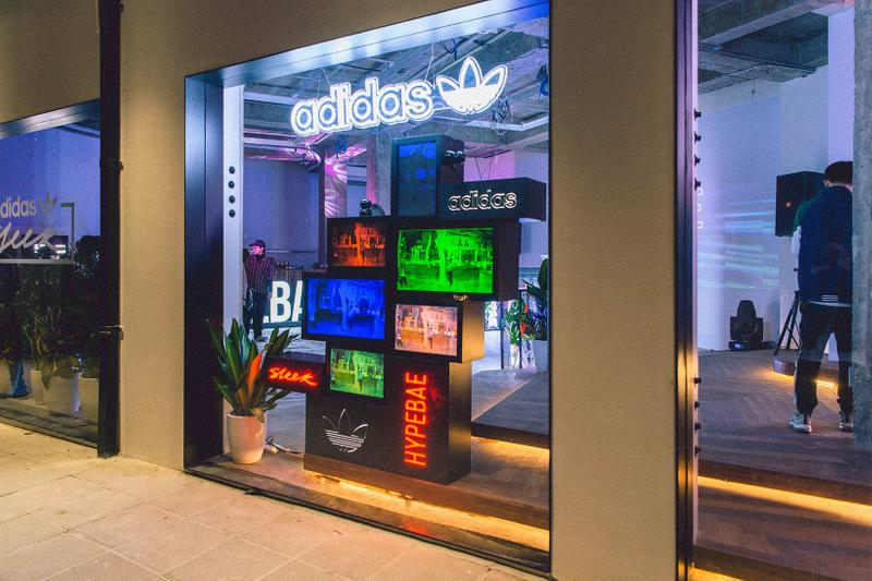 adidas originals sleek hypersleek shanghai popup recap china komi wednesday campanella fish zhang stars xu