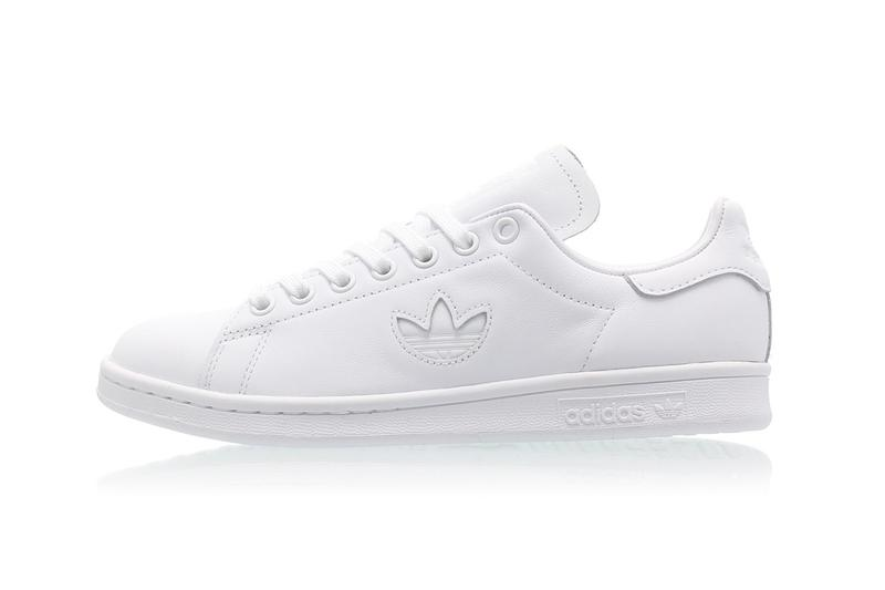 adidas originals stan smith trefoil pack pastel minimalist clear orange easy yellow black white