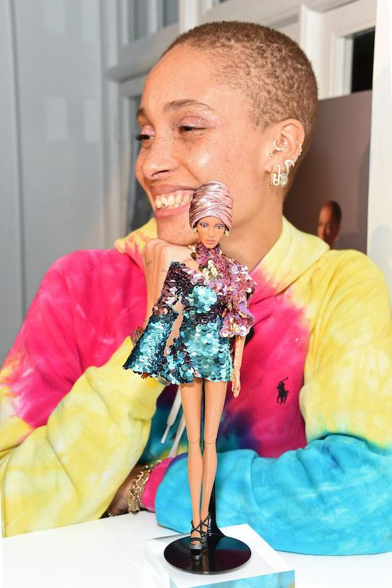 Adwoa Aboah Gets Her Own Barbie Shero Doll Release Reveal Edward Enninful Dover Street Market Launch Dream Gap Project Mattel Gurls Talk Charity