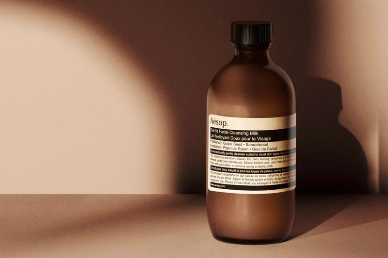 Aesop Skincare Gentle Facial Cleansing Milk Release Face Wash Product