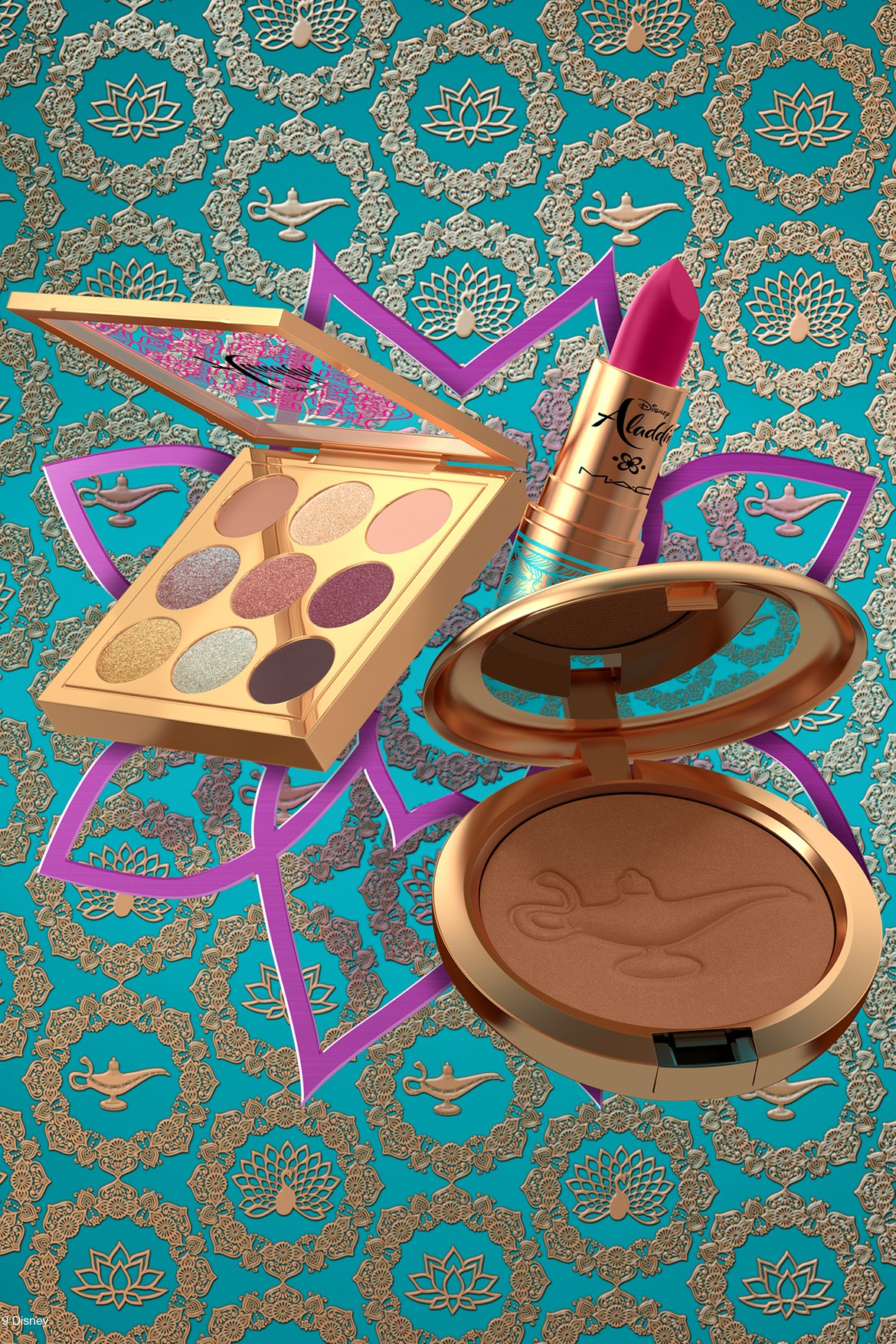 Disney X Mac Aladdin Makeup