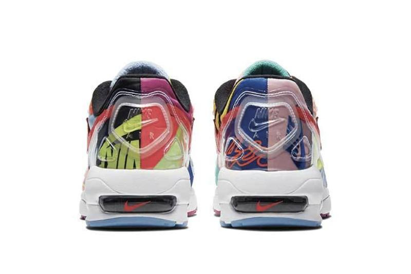 Atmos x Nike Air Max 2 Light Patchwork Release Colorful Sneaker Collaboration Shoe Trainer