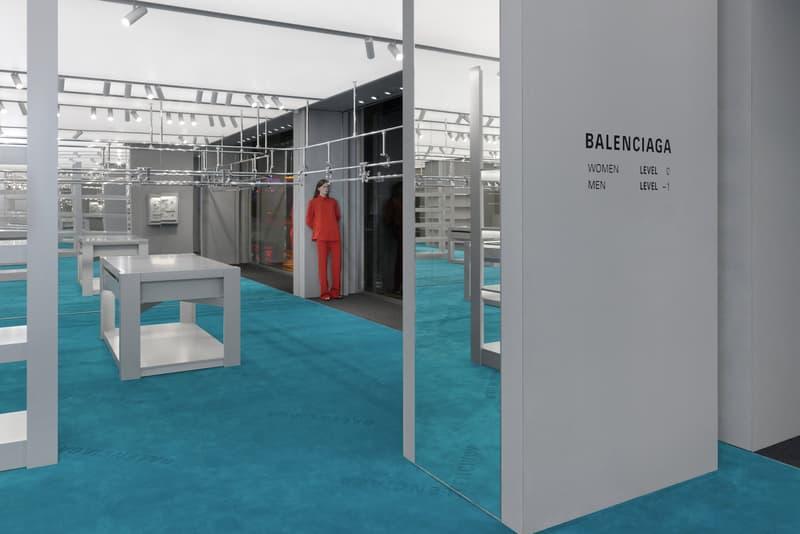Balenciaga Opens New London Store Sloane Street Address Shopping United Kingdom Demna Gvasalia Designs