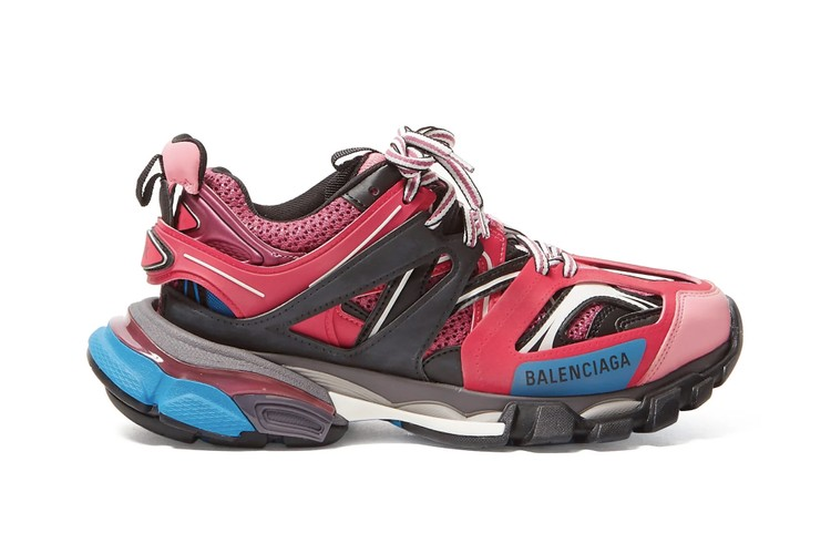 6ab179061a2d Balenciaga s Track Sneaker Arrives in a Vibrant Pink