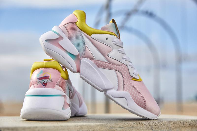 Barbie x PUMA NOVA Pack Sneakers White Yellow Pink