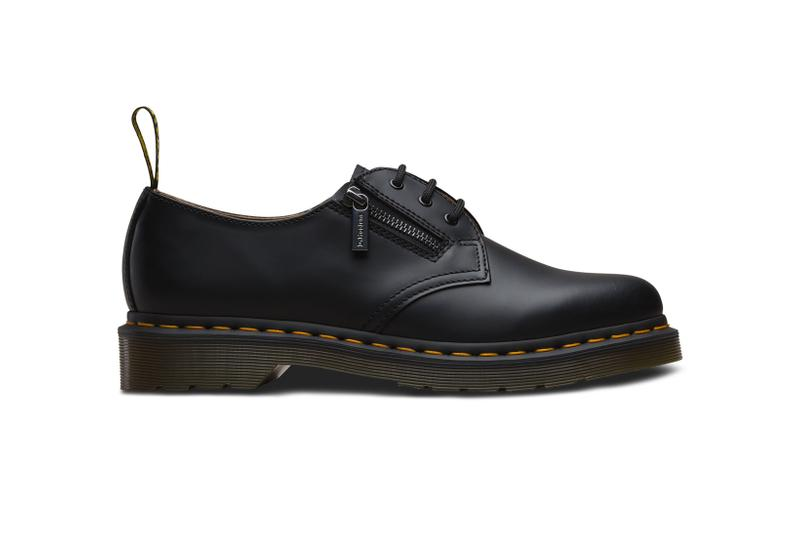 BEAMS Dr Martens 1461 Shoe White Black Leather