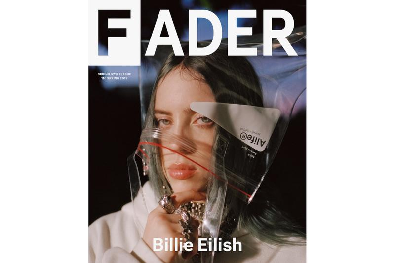 Billie Eilish Covers The FADER's Spring Issue Magazine Cover Story Photography Music Release Album