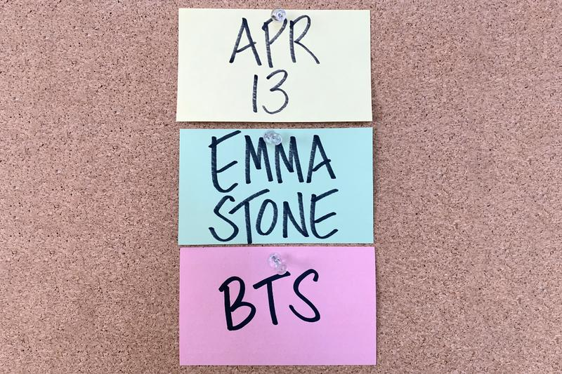 BTS Confirmed as Musical Guest on 'SNL' Emma Stone April 13 Show Performance Album Release Date