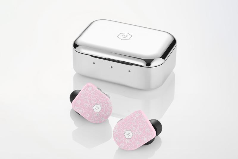 Master & Dynamic Pink Wireless Headphones Release Music Earphones Pods Cherry Blossom Sakura