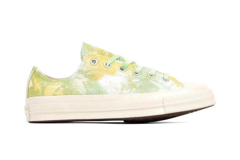 Converse Chuck 70s Tie-Dye Pack Pink, Green, Blue Creme Vanilla Light White Creme Sneaker Shoe Chuck Taylor All Star