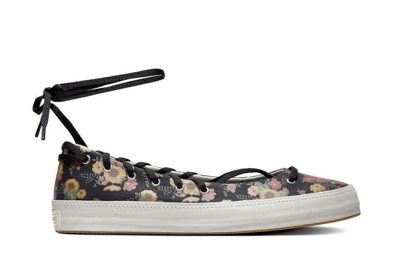 Converse Bloom In Season Spring 2019 Collection Rina Floral Black