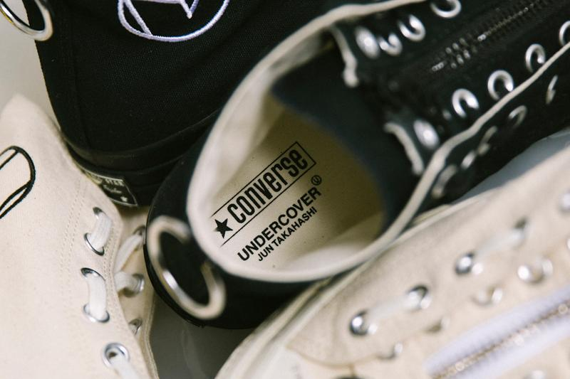 Converse x Undercover Chuck 70 Release Black White Where To Buy Launch Sneaker Shoe Footwear Jun Takahashi