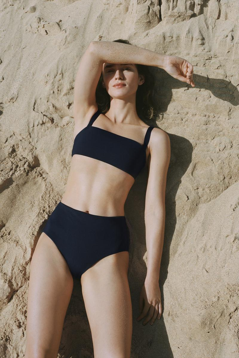 COS Minimal Swimwear Lookbook Spring 2019 Range Bikini Swimsuit Simple Chic Beachwear Beach Sun Summer