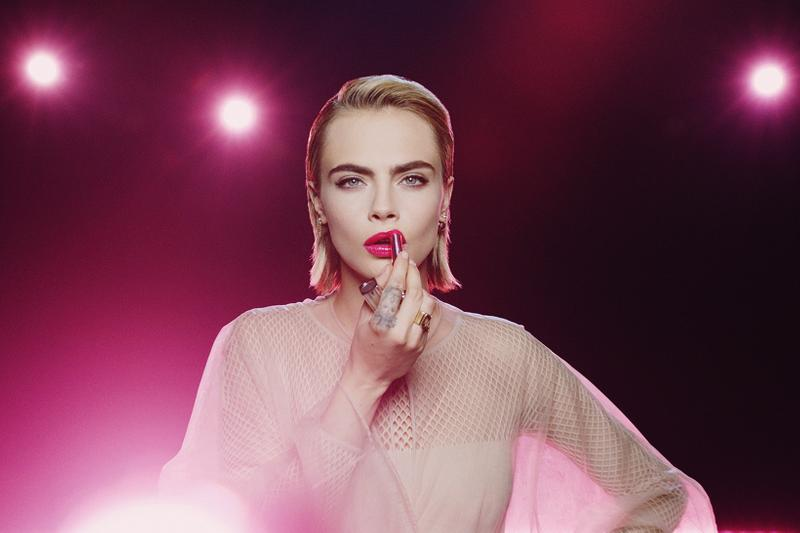 dior addict makeup lipstick nail polish peter philips cara Delevingne bts behind the scenes
