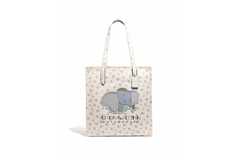 Disney x Coach Dumbo Tote White
