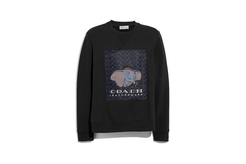 Disney x Coach Dumbo Sweater Black