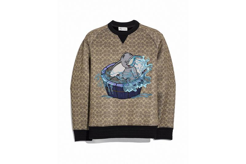 Disney x Coach Dumbo Sweater Brown