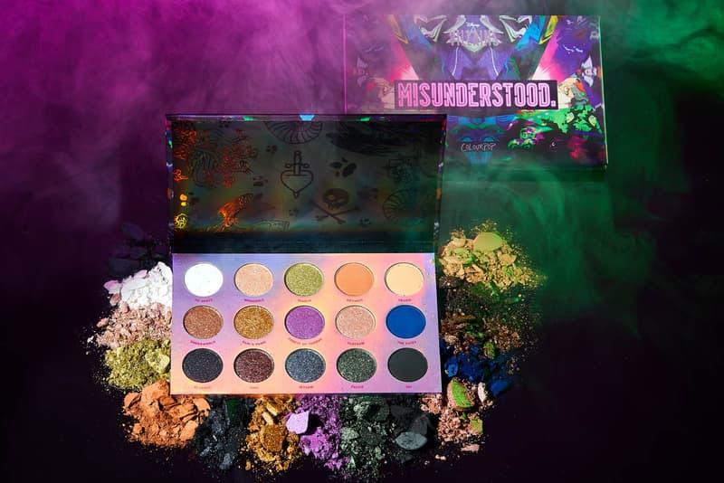 ColourPop Disney Villains Eyeshadow Lipstick Highlighters