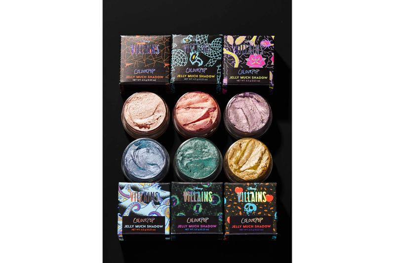 ColourPop Disney Villains Eyeshadow Lipstick Highlighters