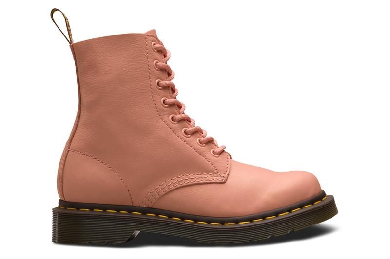 Dr. Martens 1460 Pascal Boot Living Coral Salmon Pink Pantone Color of the Year 2019