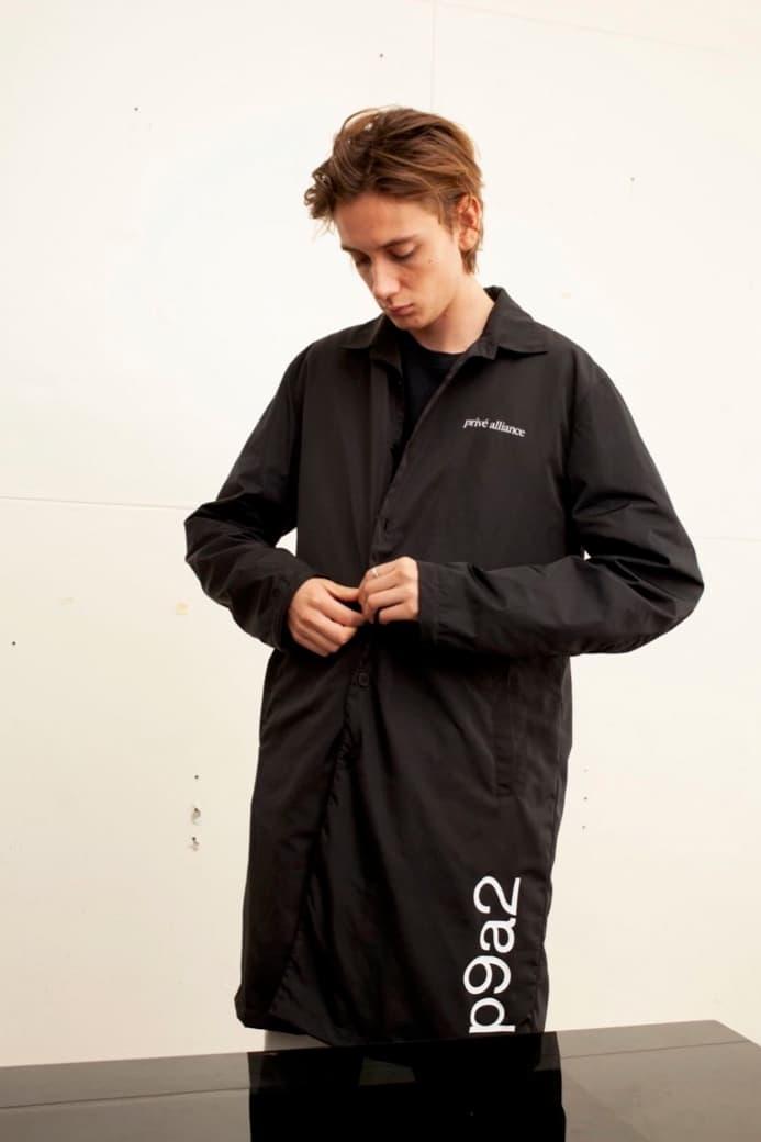 EXO Baekhyun Prive Drop Jacket Black