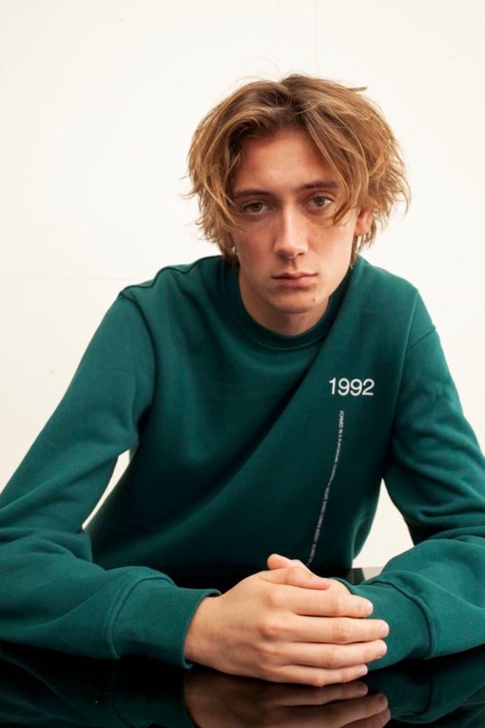 EXO Baekhyun Prive Drop Sweatshirt Green