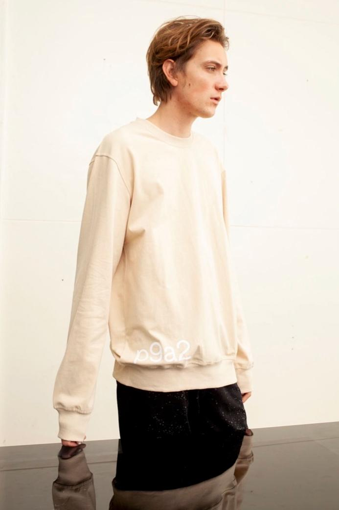 EXO Baekhyun Prive Drop Sweatshirt Cream