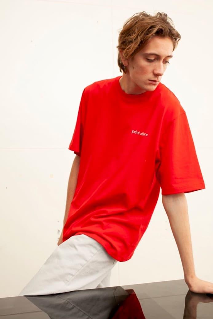 EXO Baekhyun Prive Drop T-shirt Red