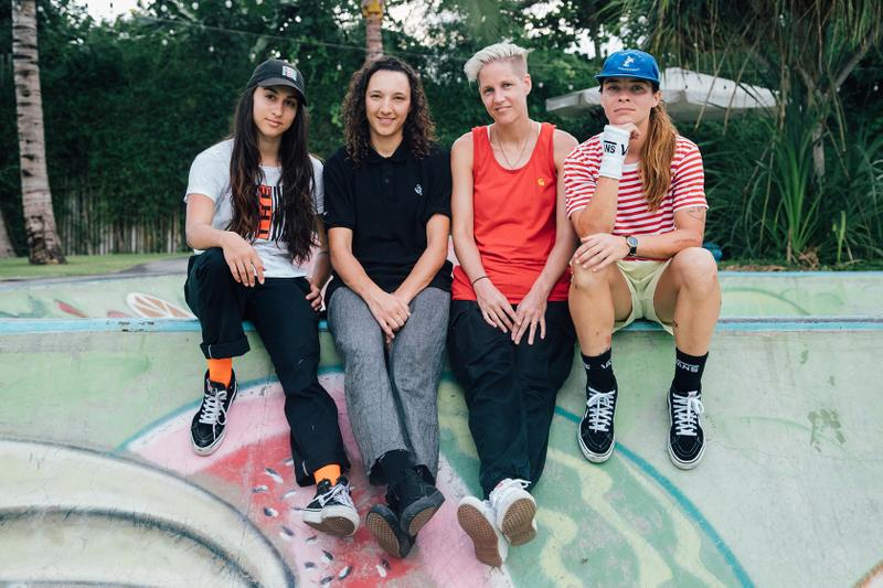 Female Skateboarders Interview UK Women's Skating Lucy Adams Amy Ram Helena Long Shani Bru House of Vans Skateboarding