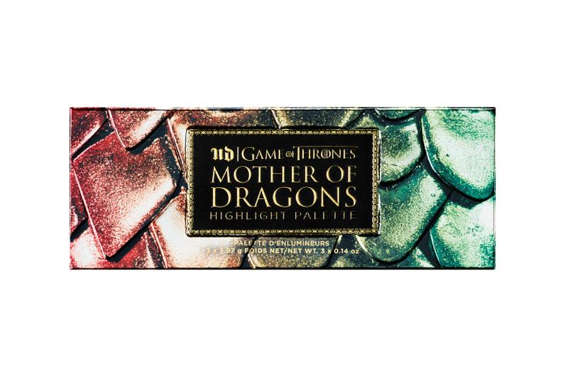 Game of Thrones x Urban Decay Makeup Collection Mother of Dragons Highlight Palette