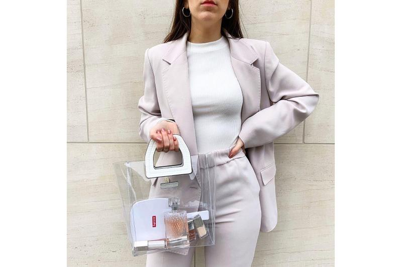 How To Wear The Power Suit This Spring Outfit Ideas Styling Tips Blazer Trousers Pink Balenciaga Tibi Acne Studios Maison Margiela