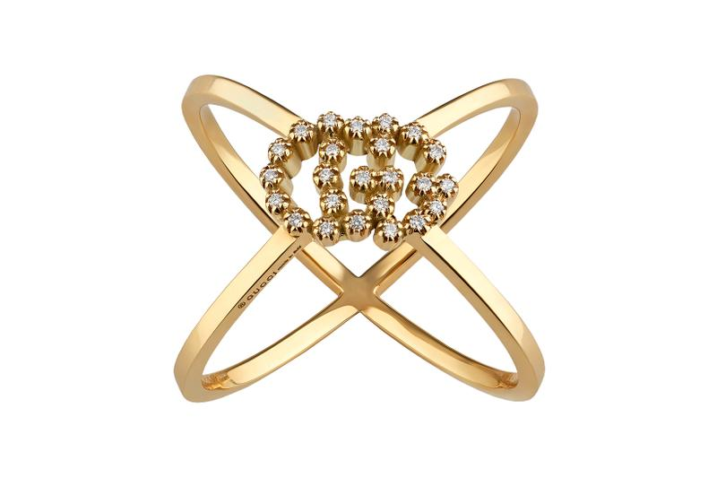 Gucci Crystal G Logo Gold Silver Hoop Earrings Rings Watches Baselworld