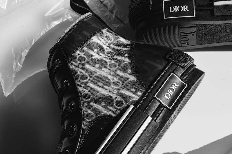 Dior Kim Jones Monogram Sneakers in Black Drop Pattern Grail Where to Buy Release Date