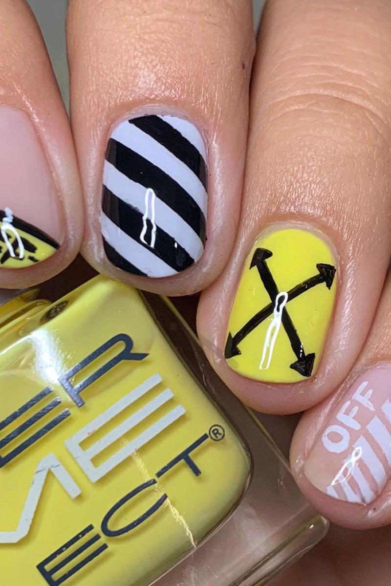 Off White Manicure Dermelect