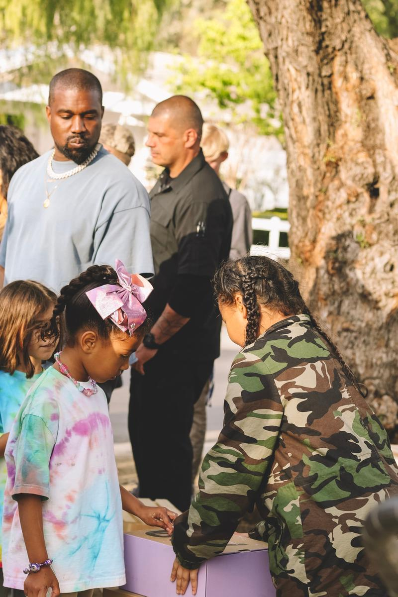 Kanye West YEEZY Lemonade Stands