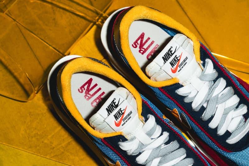 sacai x Nike LDV Waffle Daybreak Racer Release Closer Look Fashion Sneaker Shoe Chitose Abe