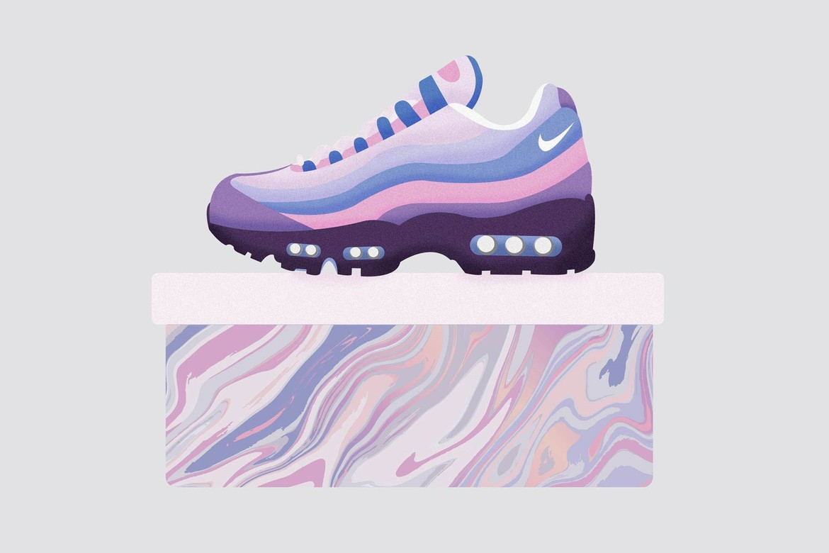 pretty nice 13b0f e3f73 Illustrated Air Max Sneakers as Beauty Items  HYPEBAE