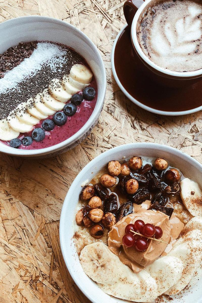 4 Instagram-Friendly Breakfast Spots in London Cereal Killer Cafe Food Eggs Coffee Best Coffee In London Abuelo The Locals Cafe MILK