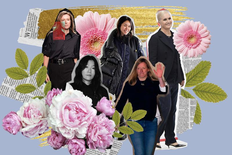 Female Creative Directors in the Fashion Industry International Women's Day Dior Valentino Alexander McQueen Sarah Burton Clare Waight Keller Givenchy Chitose Abe Sacai Maria Grazia Chiuri Yuni Ahn Maison Kitsune Meghan Markle Wedding Dress