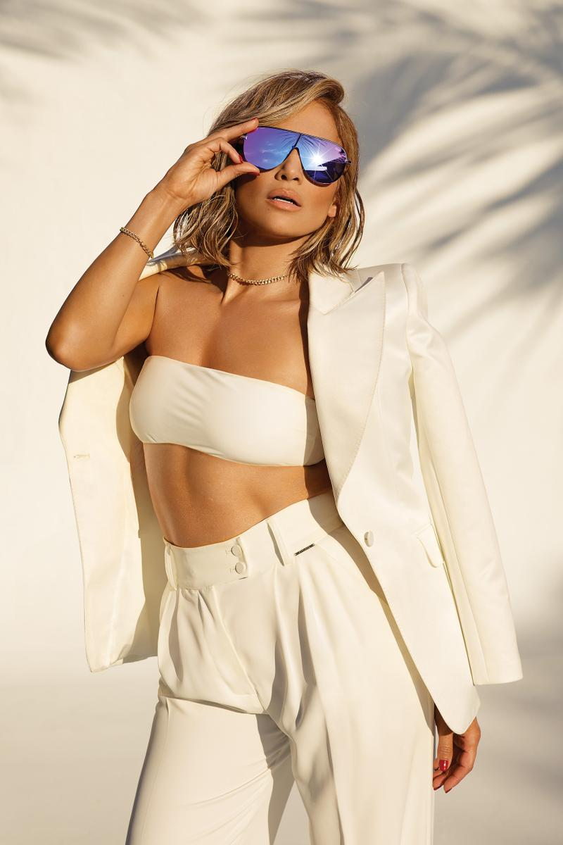 Jennifer Lopez x Quay Australia Sunglasses Collection Get Right Gold Blue Purple