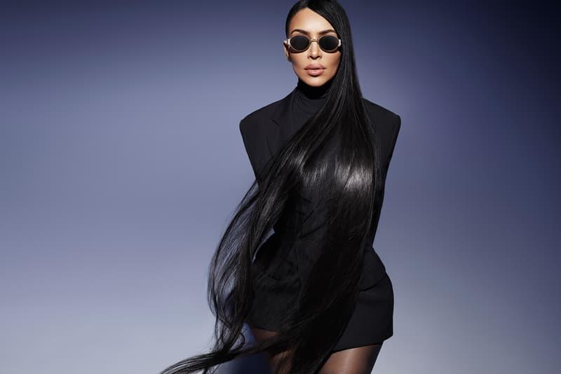 Kim Kardashian Launches Eyewear Collaboration Carolina Lemke Shades Eyewear Collection