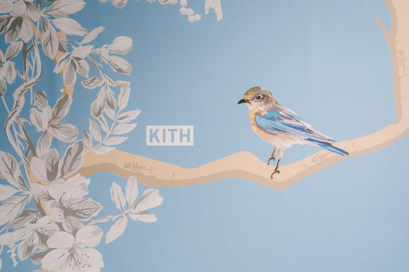 KITH x Estee Lauder Store Office Space New York Wallpaper Blue