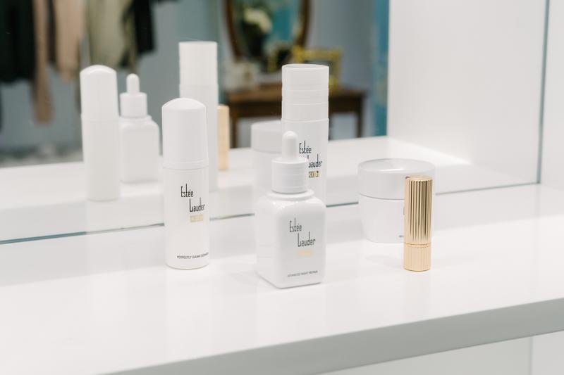 KITH x Estee Lauder Store Office Space New York Beauty Collection