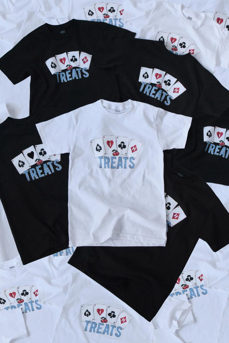 KITH Treats Jackpot Collection T-Shirts Grey Black