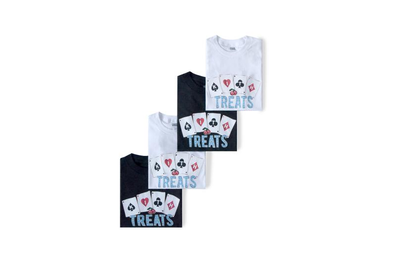 KITH Treats Jackpot Collection T-Shirts Grey Black White