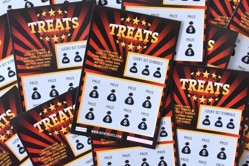 KITH Treats Jackpot Collection Tickets