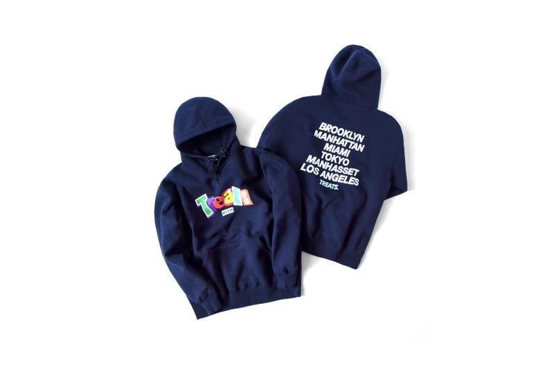 KITH Treats National Cereal Day 2019 Ransom Collection Hoodies Navy