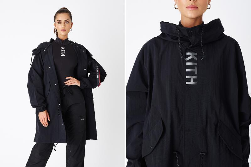 KITH Women Positive Energy Spring 2019 Collection Alpha Industries Jacket Black