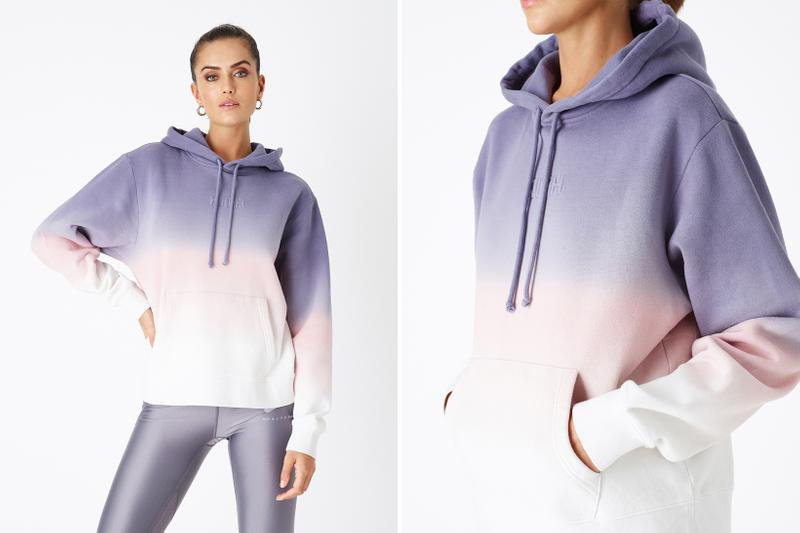KITH Women Positive Energy Spring 2019 Collection Hoodie Purple Pink White
