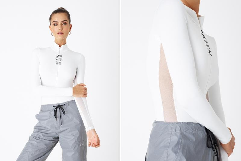 KITH Women Positive Energy Spring 2019 Collection Long Sleeved Bodysuit White